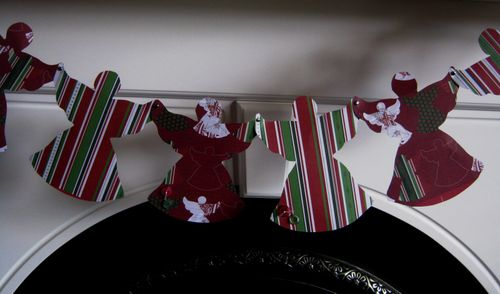 Angel paper chain