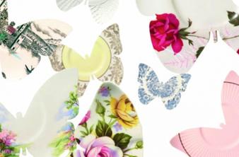 Lightly butterflies